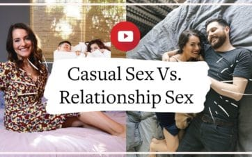 Casual Sex vs Relationship Sex: Why performance anxiety can actually be higher in a long-term relationship - and how to overcome it   Vanessa Marin Sex Therapy