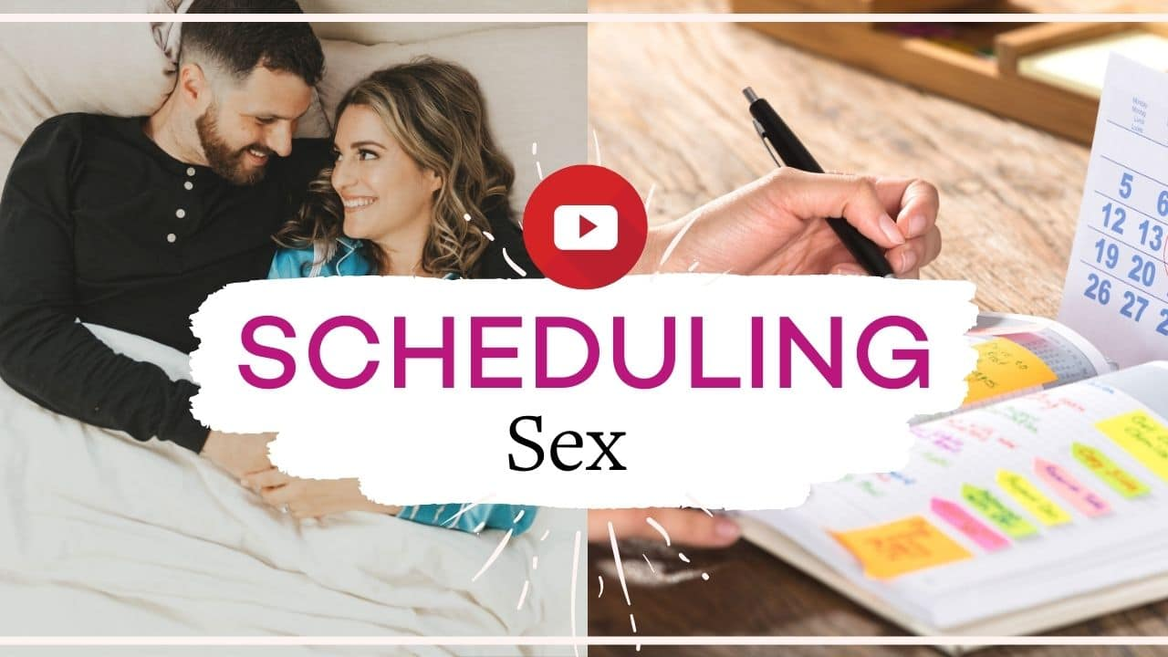 Should you schedule sex? Our take on this controversial topic | Vanessa Marin Sex Therapy